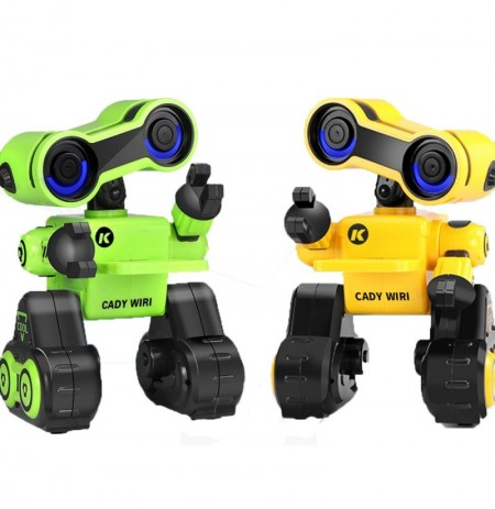 JJRC R13 CADY WIRI Smart RC Robot Programmable Touch Control Voice Message Record Sing Dance Toy