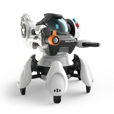 SBK50001 2.4G 6-Legs Smart RC Robot 5 Modes 3 Systems Robot Toy
