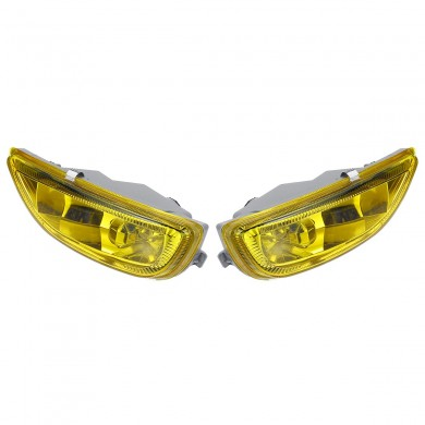 12V Car Front Bumper Fog Lights Yellow Driving Lamp for Toyota Corolla 2001 2002