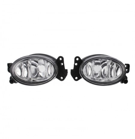 Car Front Bumper Halogen Fog Lights with No Bulbs Pair for Benz W211 W204 W219 W164 1698201556 1698201656