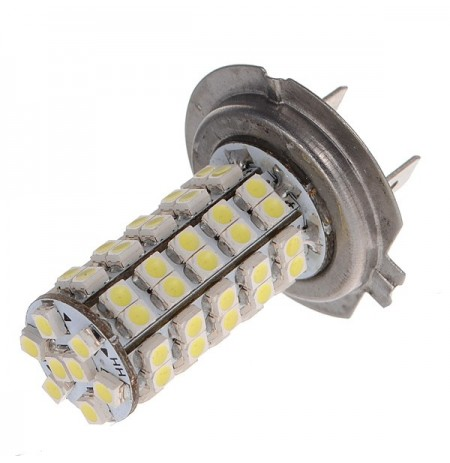 Car H7 68 SMD LED White Headlight Bulbs Light NEW