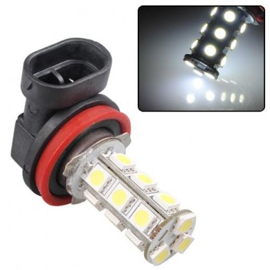 H11 18 LED SMD Xenon-White Bulb 12V Lamp Car Fog light