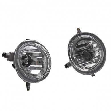 Car Front Fog Lights Lamps Clear Lens with H11 Halogen Bulbs Yellow Pair for Mazda 2 3 6 CX5 CX7
