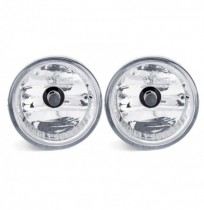 Car Front Bumper Fog Lights Lamps with Covers Pair For Toyota Prius 2004-2009