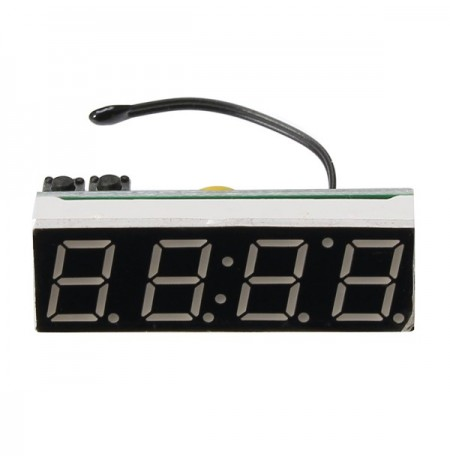 High Precision DS3231SN Luminous Vehicle Clock Module Thermometers Voltage Detection Table