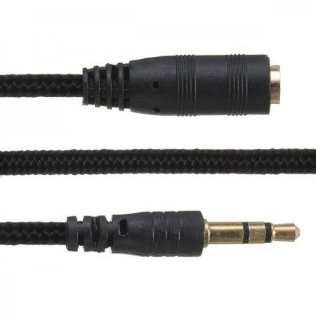 Long 3.5mm Headphone Earphone Extension Extender M F Cable