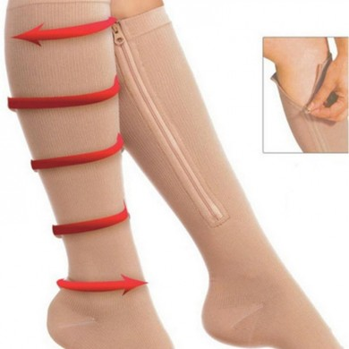 Durable Soothe Venas varicose Compression Chaussettes Stocking Sleep Leg Slimming