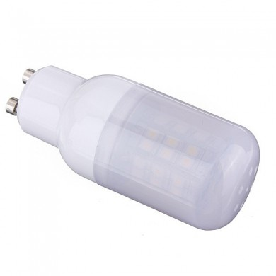 GU10 3.5W 48 SMD 3528 AC 220V LED Corn Light Bulbs With Frosted Cover
