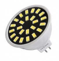 MR16/E27/GU10 LED Bulb 24 SMD 5733 480LM Pure White Warm White Spot Lightt Bulb 4.8W AC220V