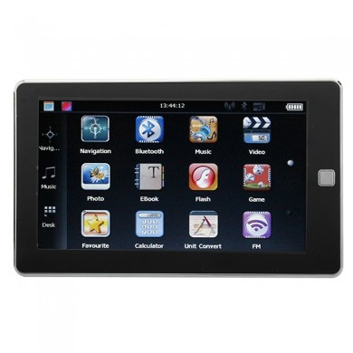 Car 7 Inch GPS Navigation YL-930 BT FM AV MTK HD Touch Screen