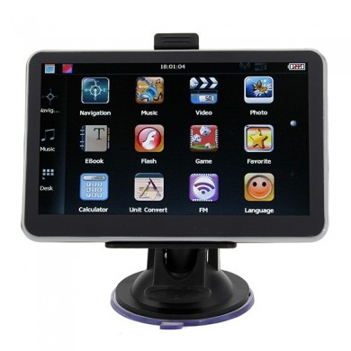 Auto GPS-Navigation 5 Zoll-HD-Touchscreen YL-710 MTK FM AV BT