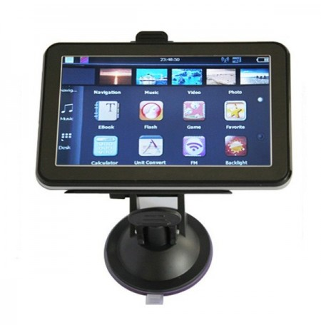 4.3 Zoll Auto GPS Navigation TFT LCD Touch Screen 800MHz Windows CE6.0