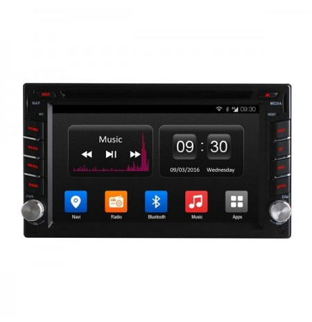 Ownice C300 OL-6666T Car GPS Navigation DVD Player 2 Din Quad Core Android Universal Support OBD DAB TPMS