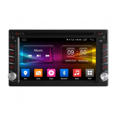 Ownice C500 OL-6666F Wifi BT 6.2 Inch Coche Reproductor de DVD Android 6.0 Octa Core GPS Touch Screen