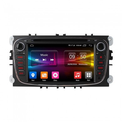 Ownice C500 OL-7296F HD 7Inch 4G Wifi Car MP5 Player Android 6.0 Quad Core TV GPS para Ford Focus