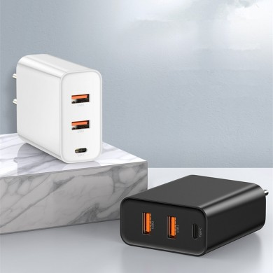 Baseus Speed Dual QC3.0 Quick USB Charger U+U 30W EU Charger for Samsung Xiaomi Huawei
