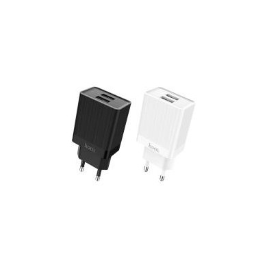HOCO Dual USB EU Plug Wall Smart Travel USB Charger for Samsung Xiaomi Huawei