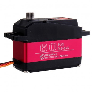 DSSERVO DS5160 HV 60kg 180°/270° 18T Metal Gear Digital Servo For 1/5 Redcat HPI Baja 5B SS RC Car Compatible SAVOX-0236 LOSI XL