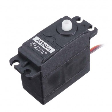 DSSERVO AS3103PG 5.5KG 180°/360° Analog Servo For RC Robot RC Car