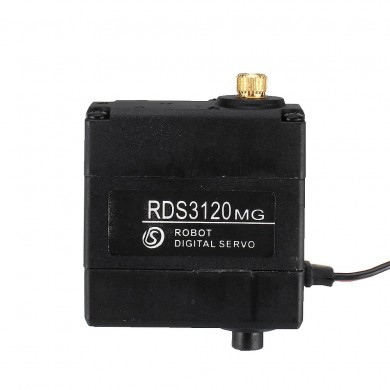 DSSERVO RDS3120MG 270° 22kg Metal Gear Dual Ball Bearing Digital Servo For Robot Arm