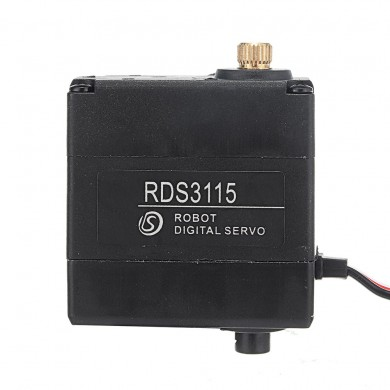 DSSERVO RDS3115MG 17kg 270° Dual Ball Bearing Metal Gear Digital Servo For RC Robot DIY
