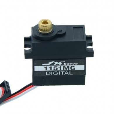 JX PDI-1151MG 3.6KG Mini Coreless Waterproof 120° Digital Servo For RC Models