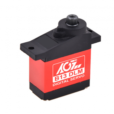AGF B13DLM 13g 3.8KG Metal Gear Micro Digital Servo For RC Helicopter Airplane