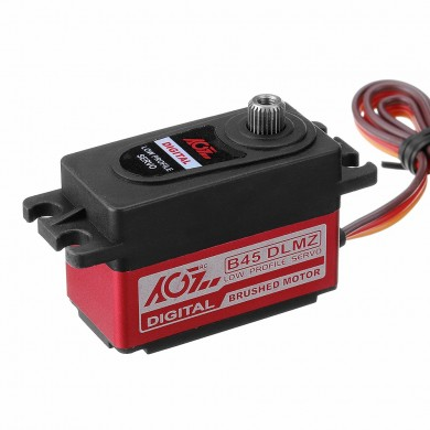 AGF B45DLMZ 8KG Metal Gear Short Body Digital Servo For RC Helicopter Car Robot