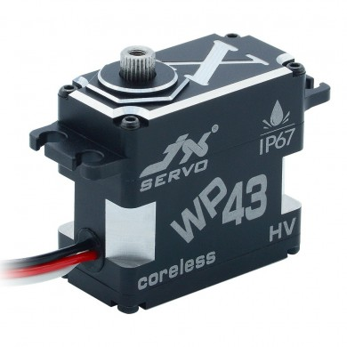 JX Servo WP43 HV 43KG Coreless Waterproof IP67 Metal Gear Digital Servo For RC Car Airplane Helicopter