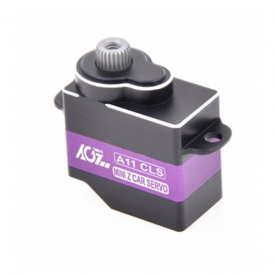 AGF A11CLS-B 11g Coreless Metal Gear Micro Digital Servo JR Plug para 1/24 RC Coche RC Airplane Robot