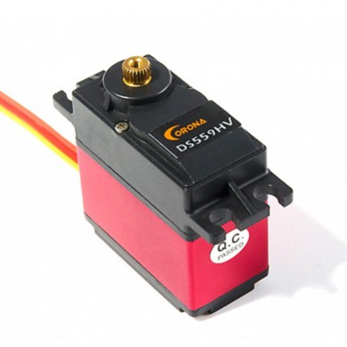 Corona DS559HV BB 20KG Metal Gear Digital Servo For RC Airplane