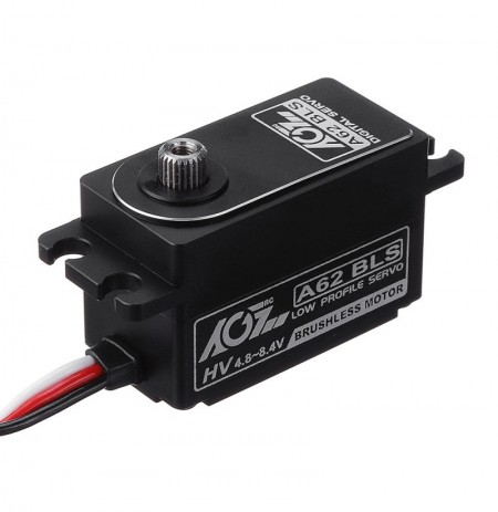 AGF A62BLS 8.4V 14.5KG Brushless Metal Gear High-speed Short-body Digital Servo For 1/8 1/10 RC Car
