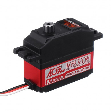 AGF B26CLM 8.5kg Coreless Metal Gear Digital Servo para 450 RC Helicóptero RC Coche