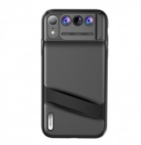 Rock Lens iPhone Cover Multi-Lens Wide Angle Macro Lens Telephoto Fisheye Camera 6 In1 Shockproof Protective Case For iPhone XR