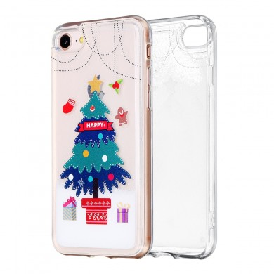 AUGIENB Christmas Tree Pattern Soft TPU Protective Case For iPhone X/XS/8/8 Plus/7/7 Plus/6s/6s Plus/6/6 Plus