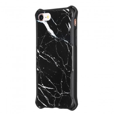 AUGIENB Marble Textured Soft TPU Protective Case For For iPhone X/XS/8/8 Plus/7/7 Plus/6s/6s Plus/6/6 Plus
