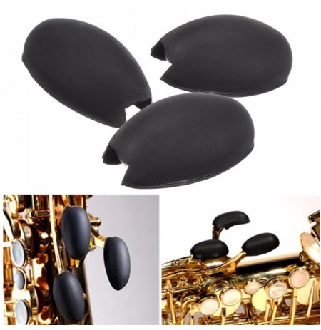 3Pcs Saxophone Palm Keys Non-slip Rubber Cover
