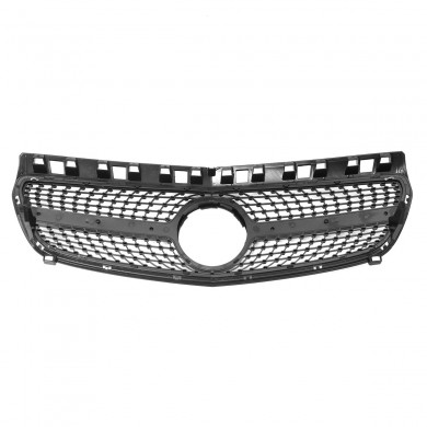 Front Grille Suitable for Mercedes-Benz W176 A200 A250 A45 AMG 2013-2015 without Emblem
