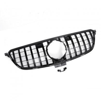 GT R Front Grille Grill For Mercedes Benz GLE Coupe W292 C292 GLE350 2016-18