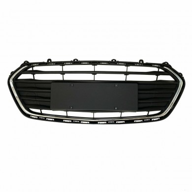 Black Front Bumper Grill Lower Grille Trim Cover For Chevrolet Trax 2017-2018