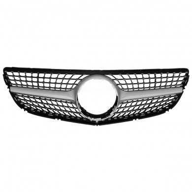 Diamond Front Grille Grill For Mercedes Benz E Class Coupe W207 C207 A207 2014-2016