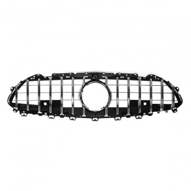 Silver GT R Style Front Grille Grill For Benz C257 CLS400 CLS450 CLS53 AMG 2019