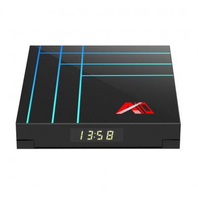 A10 RK3318 4GB RAM 32GB ROM 2.4G Android 9.0 4K VP9 H.265 TV Box