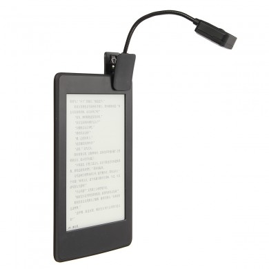 Electric Eye Care Lâmpada de leitura LED Book Light Clip para Kindle E Book