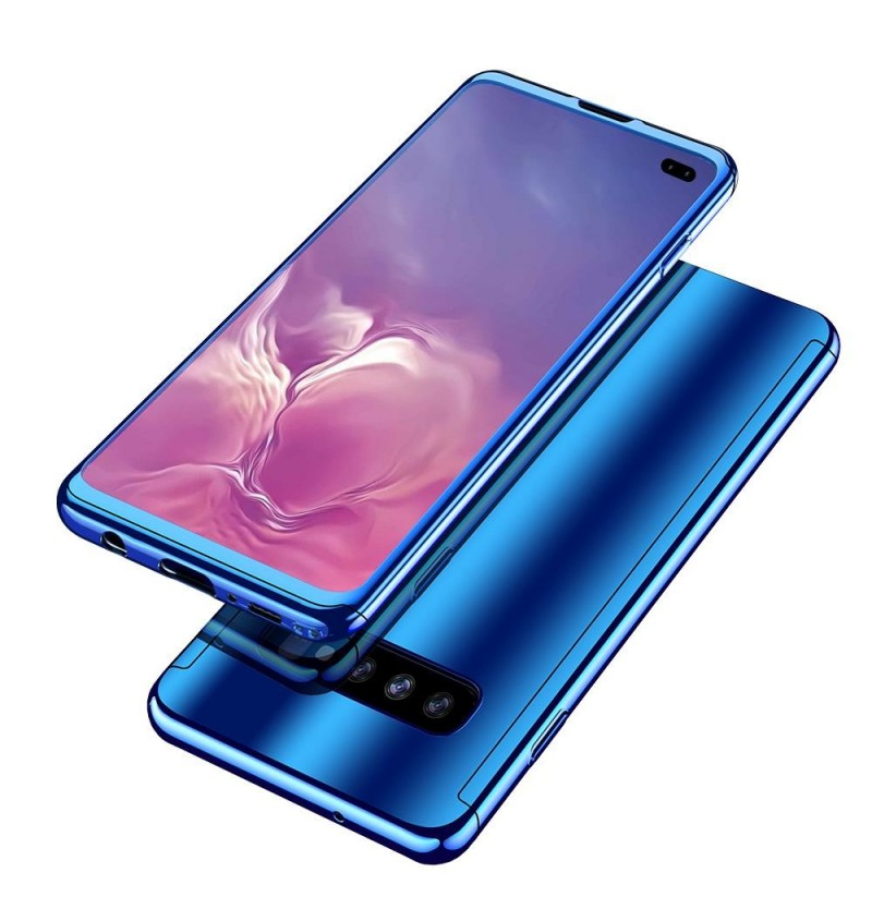 Bakeey Plating 360° Full Body PC Front+Back Cover Protective Case+HD Film For Samsung Galaxy S10e/S10/S10 Plus (Color: Purple, Samsung Models: S10 Plus 6.4