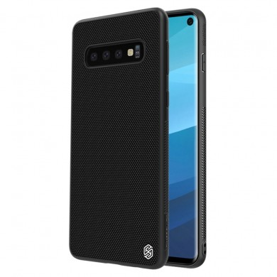 NILLKIN 3D Textured Pattern Shockproof TPU + PC Back Cover Protective Case for Samsung Galaxy S10 Plus / S10+