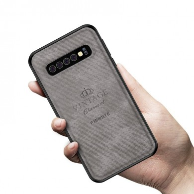 Mofi 3D Leather Shockproof Protective Case For Samsung Galaxy S10 Plus 6.4 Inch