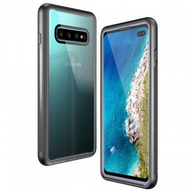 Bakeey Anti Knock Protective Case For Samsung Galaxy S10 Plus 6.4 Inch Shockproof Full Body Cover With Front Screen Protector