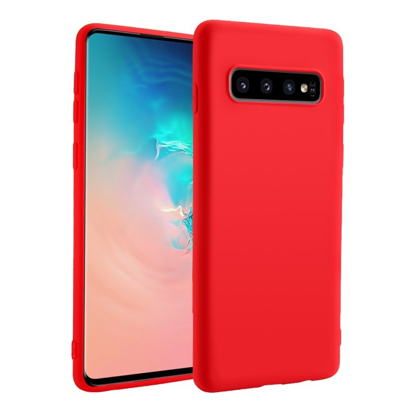 Bakeey Liquid Silicone Rubber Protective Case For Samsung Galaxy S10e/S10/S10 Plus Anti Fingerprint Soft Back Cover (Color: Blue, Samsung Models: S10e) фото