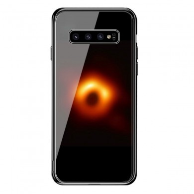 Bakeey Black Hole Scratch Resistant Tempered Glass Protective Case For Samsung Galaxy S10 Plus
